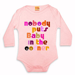 nobody puts baby in the corner pink