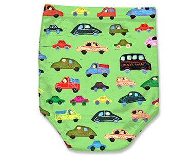 cars green pantlets