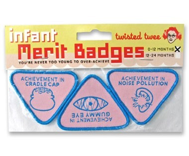 infant merit badges
