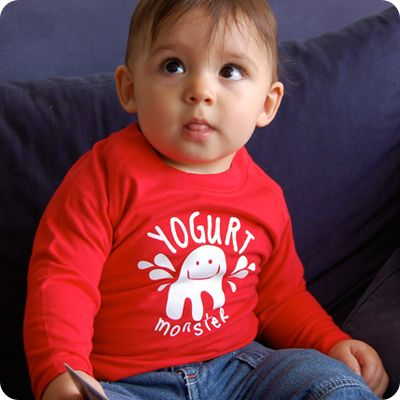 yogurt monster t shirt