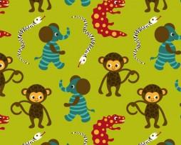 monkey fabric