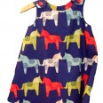 dala horse pinafore dress