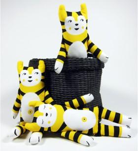 yellow rollo cat