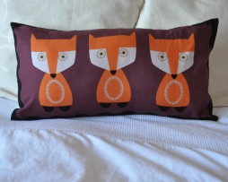 foxes cushion