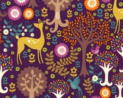 michael miller fantasy forest