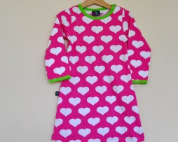 jny hearts dress on pink