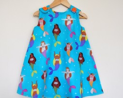mermaid pinafore
