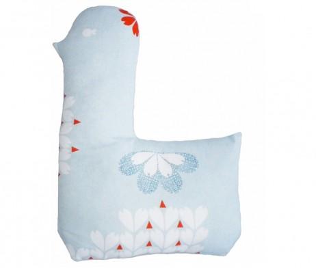 blue lotta cushion