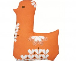 orange lotta cushion