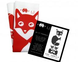 paapii red fox family kit
