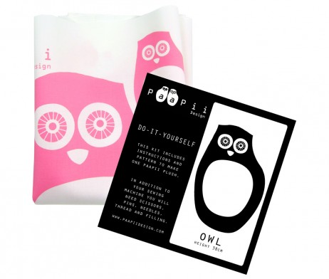 paapii pink owl kit