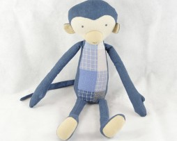 maileg blue monkey