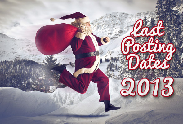 Last posting dates 2013