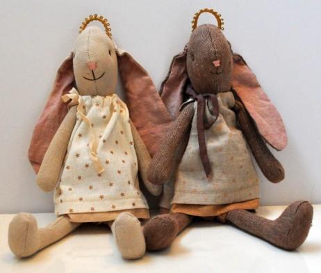 maria and gabriella angel rabbits