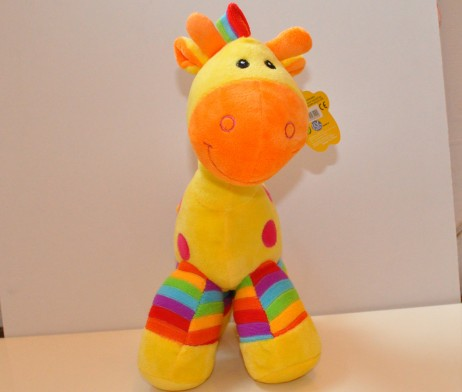 rainbow horse yellow