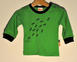 Snoffs green ants tshirt