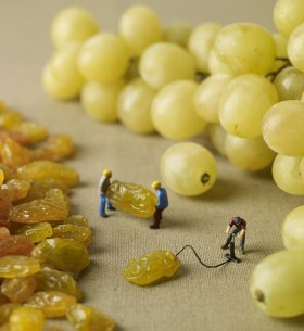grape inflating