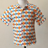Fish short sleeve shirt
