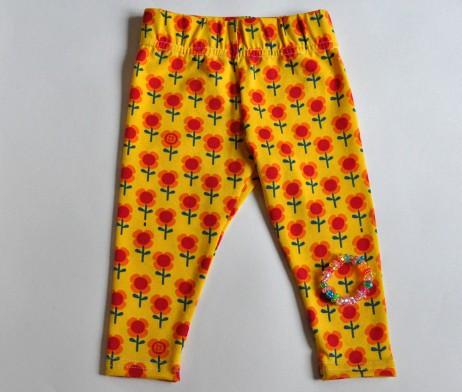 happy flower leggings