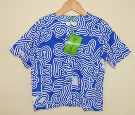 plastisock blue sailor shirt