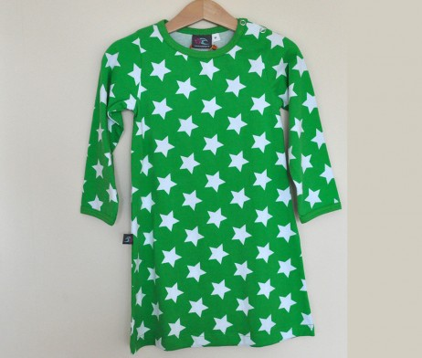 Green Stars Dress JNY