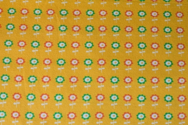 frog prince flowers fabric