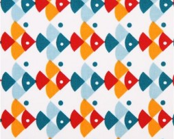 angel fish fabric
