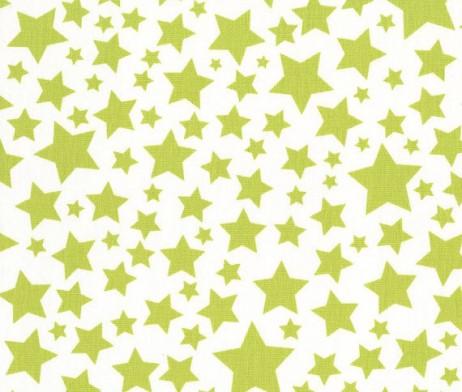 michael miller lime super stars