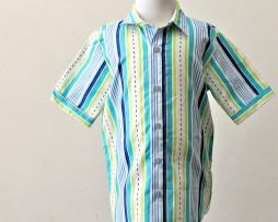 Aviator racing stripes shirt